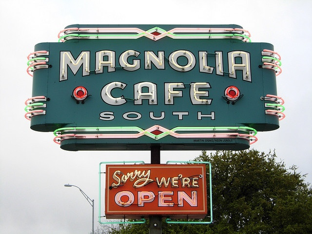 Magnolia Cafe, South Congress Ave. Austin Texas