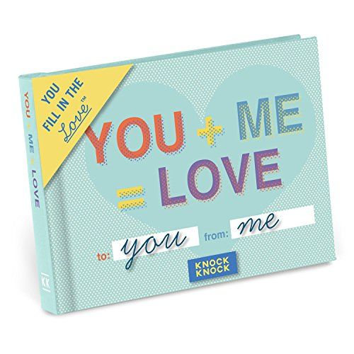 Knock Knock You + Me = Love Fill in the Love Journal (502...