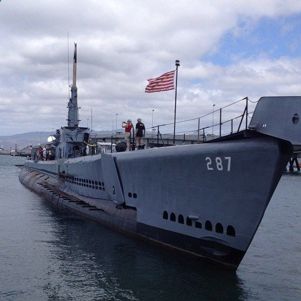 USS Bowfin Submarine Museum Park in Honolulu, HI. I toured it in the 80s. Fascinating.