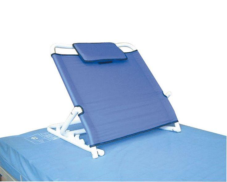 Este respaldo forrado dispone de 6 posiciones de inclinación ajustables. El marco está cubierto con una tela de nylon transpirable. Incluye cojín.