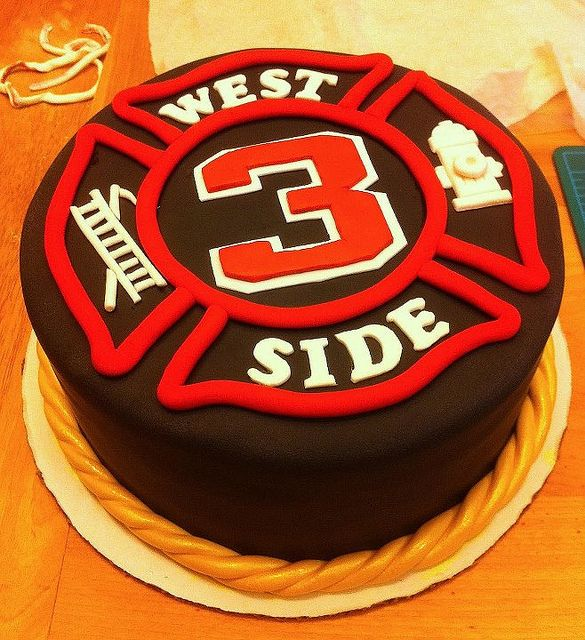 Firefighter Cake Shared By Lion Cake Ideas Pinterest