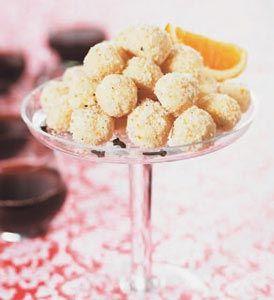 Vit chokladtryffel med apelsin och cointreau #recept #norrmejerier #jul #present