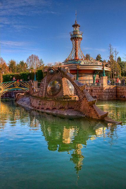 #Disneyland Paris. Les Mysteres du Nautilus in Discoveryland