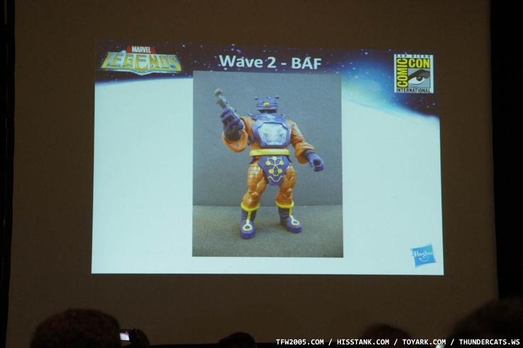 Marvel Legends 2012 Wave 2 BAF: Arnim Zola