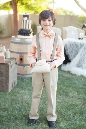 The ring bearer I know this handsome little man :) @Julie Read