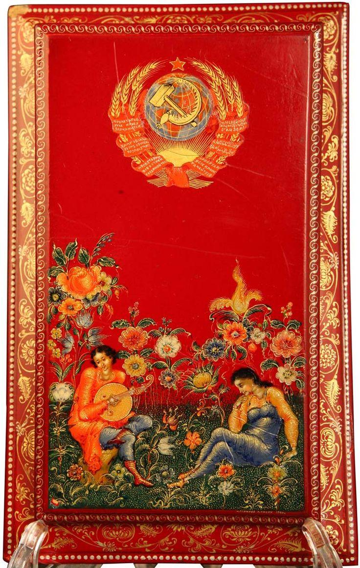БЛОКНОТ «ГЕРБ СССР» - Всероссийский музей декоративно-прикладного и народного искусства