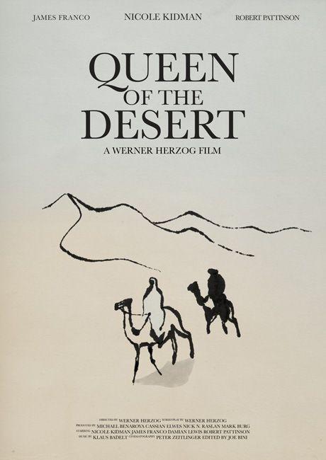 Queen of the Desert Movie Poster (2015).