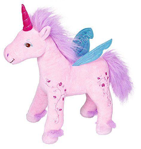 From 20.67:Princess Lillifee Unicorn Plush Toy Rosie 27 Cm Model# 13107 | Shopods.com