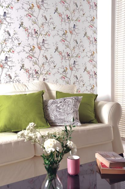 Camille Collection - Wallpaper and wallcoverings from Holden Decor Ltd.