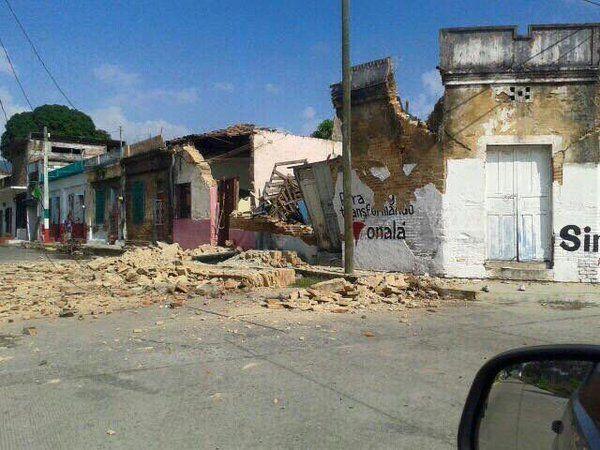 Enlace permanente de imagen incrustada sismo en Chiapas hoy 17 bde diciembre 2,015