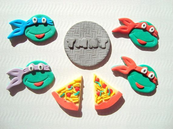 Teenage Mutant Ninja Turtle Cupcake by SweetCakeByAnastasia