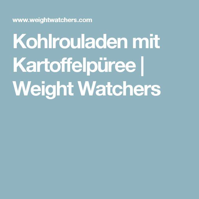 Kohlrouladen mit Kartoffelpüree | Weight Watchers