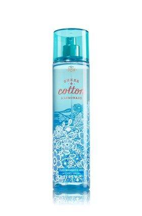 ♥ FRAGRANCE MIST Sheer Cotton & Lemonade ★★★★ Scent : de schone geur van frisse katoen en sprankelende limonade, verzacht door wilde gardenia