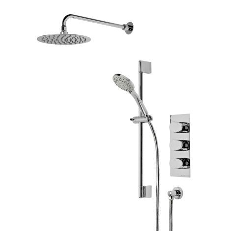 Stream concealed dual function shower system | Roper Rhodes