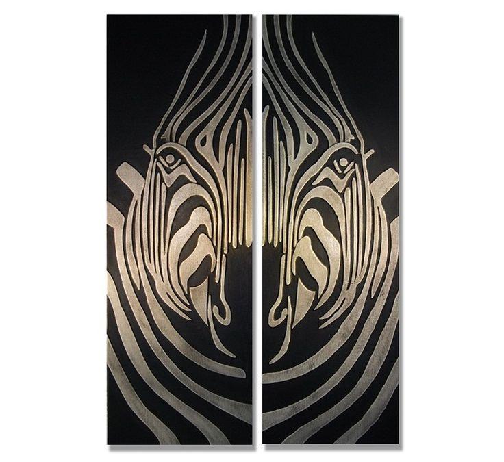 tavla zebra | Klicka för större bild