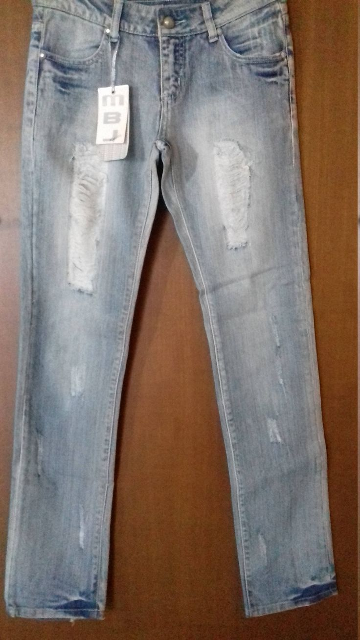 Vintage Italian Jean by M.B.J. Luxury Style Bleached blue Size:42 ***New with tags *** by AlternativeByGeorge on Etsy