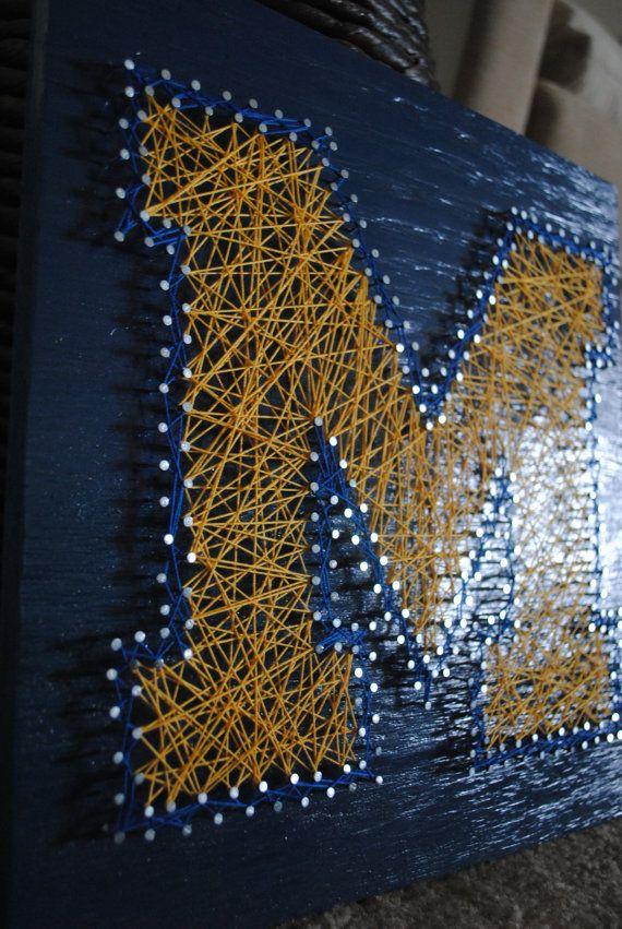 121 Best Maize Amp Blue Diy Images On Pinterest Michigan