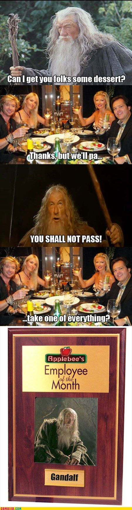 I love it!: Funny Pictures, Giggl, Funny Stuff, Humor, Lord, Movie Line, Funny Memes, Gandalf, Server Life