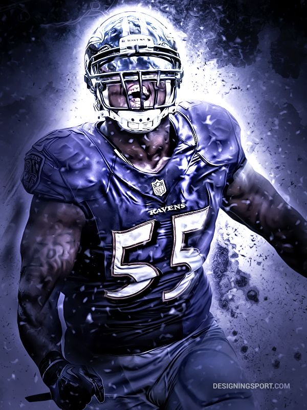Terrell Suggs, Baltimore Ravens.