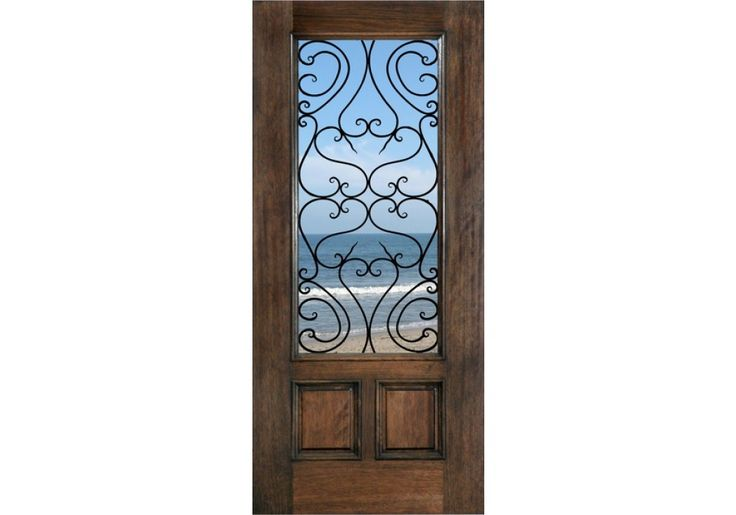 Mahogany Tuscany Door from ETO Doors - Mediterranean Series