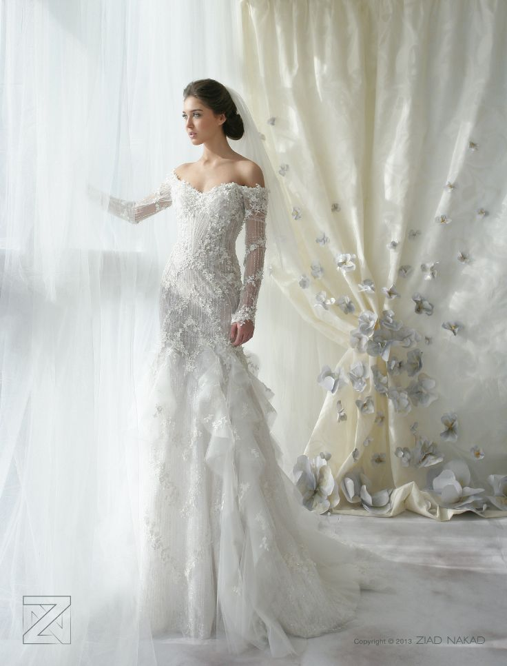 Cheap Wedding Dress Hawaii Buy Quality Brand Directly From China Mermaid Strapless Suppliers 2015 Ziad Nakad Off Shoulder