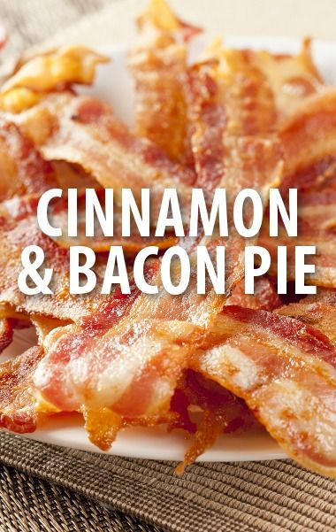 Chef Carla Hall made a special Cinna-Bacon Pie recipe for The Chew's Baconfest 2014 episode. http://www.recapo.com/the-chew/the-chew-recipes/chew-carla-halls-cinna-bacon-pie-recipe/