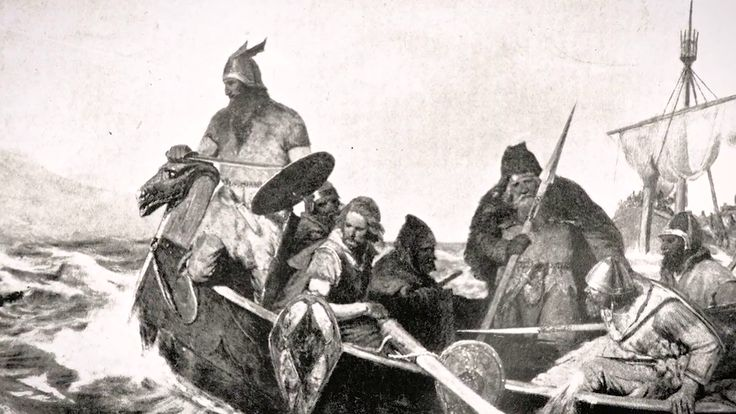The Vikings reciept for conquerring the world, was their ships. They were built with high tech kiels that made the boats run faster and more steady. The Vikings had to master the sea, as Norway just have 2 percent fields that you can grow things on. Picture from CC commons.
