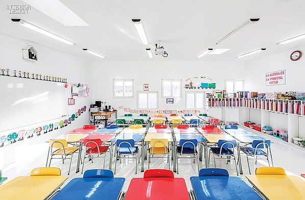 Stronger Than The Storm: Colegio Santa Rosa de Constitución | Projects | Interior Design