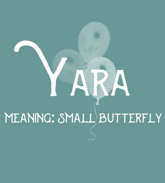 Yara - Sweet and Strong Dutch Baby Names for Girls - Photos