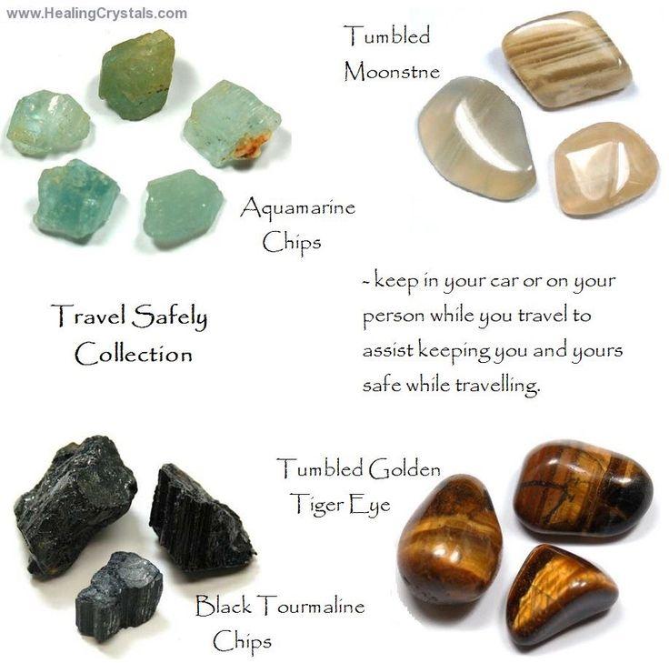 Crystals for safe travel