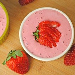 Chilled Strawberry Soup | dessert ideas | Pinterest