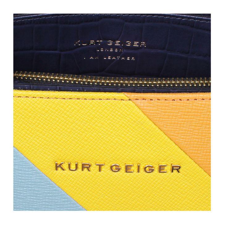 New Saffiano London Tote Multi-coloured Tote Bag By Kurt Geiger London | Kurt Geiger