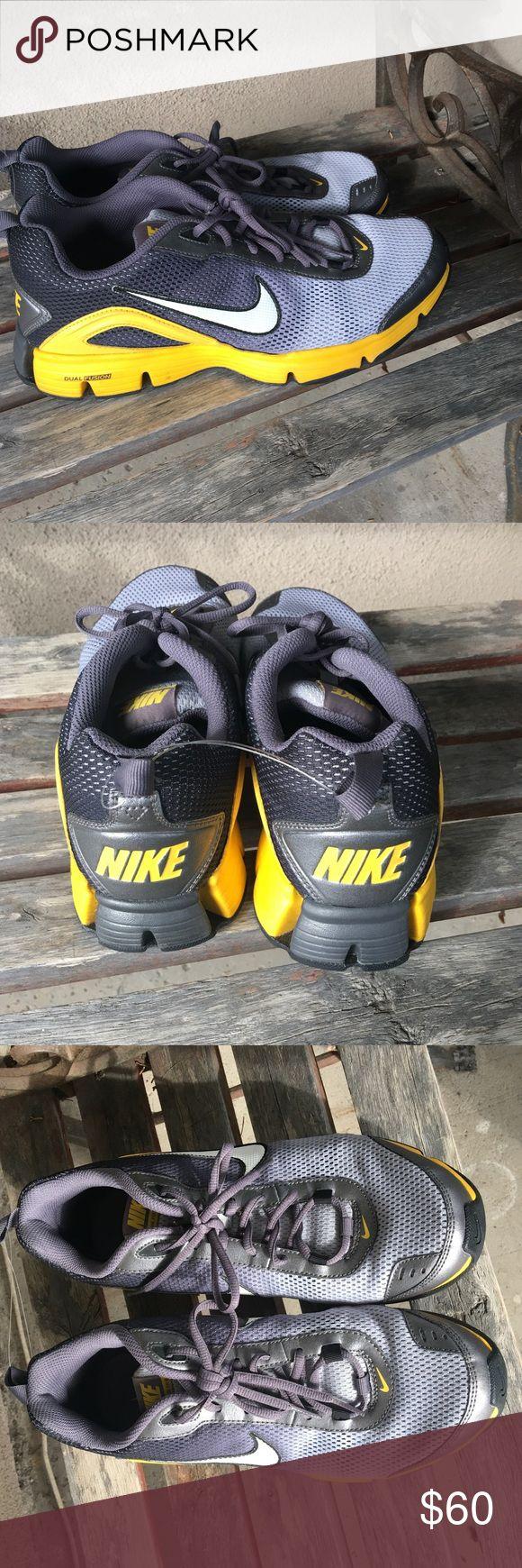 Nike dual fusion TR II size 9.5 Nike dual fusion TR II size 9.5.  Never worn, no box. Nike Shoes Sneakers