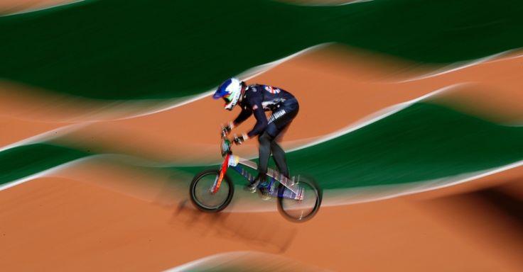 O britânico Liam Phillips participou da competição de ciclismo BMX nos Jogos Olímpicos do Rio. Philips alcançou a 10ª colocação