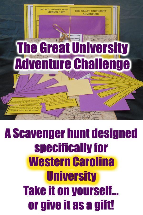 Scavenger Hunt Adventure Western Carolina University Wcu The