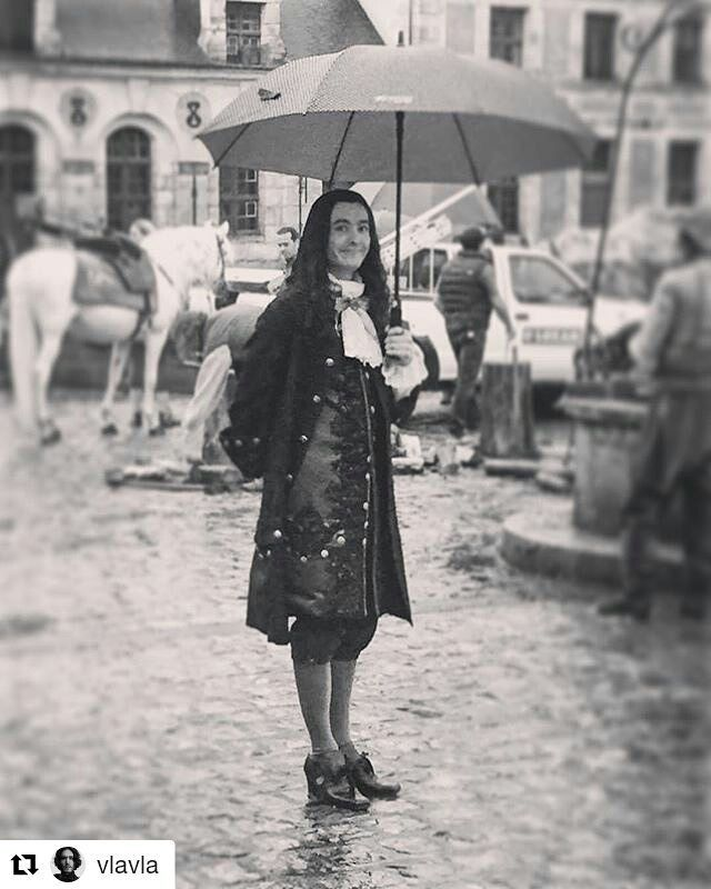 #Repost @vlavla・ Just singing in the rain #Versailles