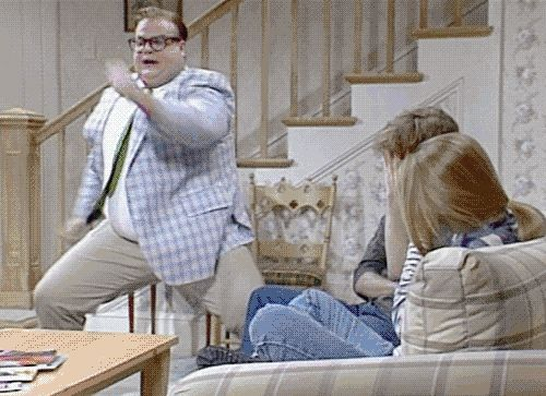 chris farley animated GIF