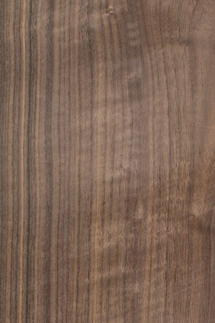 Nussbaum amerikanisch | Furnier: Holzart, Nussbaum, Blatt, braun, dunkel, #Holzarten #Furniere #Holz