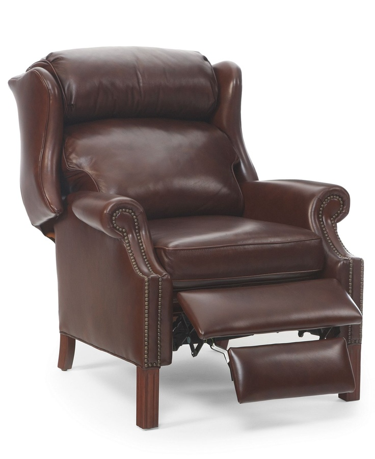 Kennedy Leather Recliner Chair - furniture - Macyu0027s 899.00  sc 1 st  Pinterest : unique recliner chairs - islam-shia.org