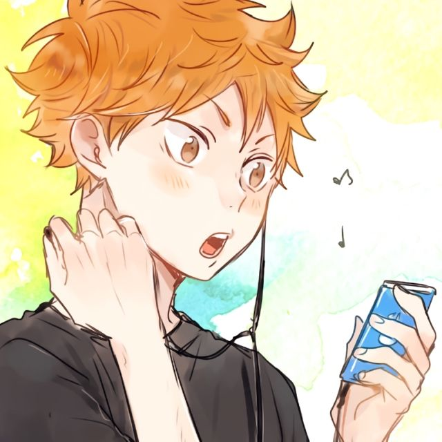 songs i think that would be on hinata's ipod! whenever i think of him i just think of uplifting music and pop-y music. he probably likes a lot of popular artists like KANA-BOON and etc. what singers and bands do you think the haikyuu!! characters like?  EDIT: Thank you for gold!!!   COVER PIC: http://www.zerochan.net/1924167 and sadly i cant find the specific pixiv entry but it's by this artist! (who draws the cutest sugahina i've ever seen) http://www.pixiv.net/member.php?id=792718 SONG…