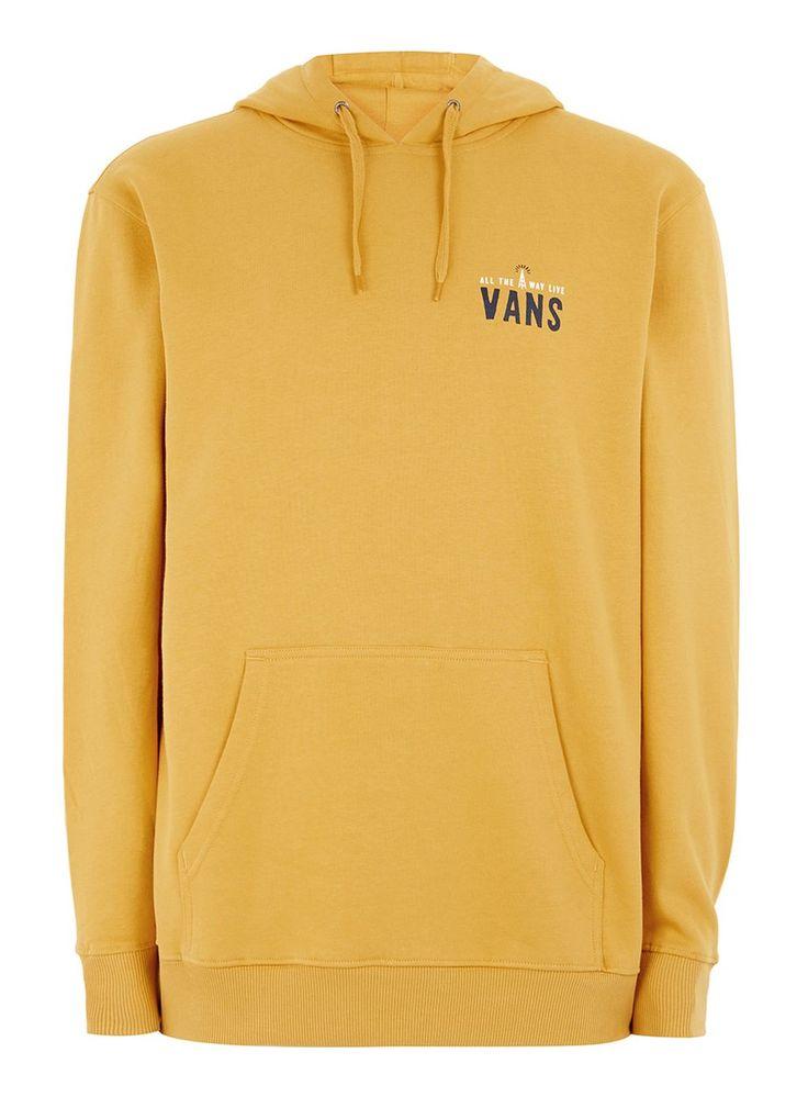 VANS Yellow 'Wifi Death' Hoodie