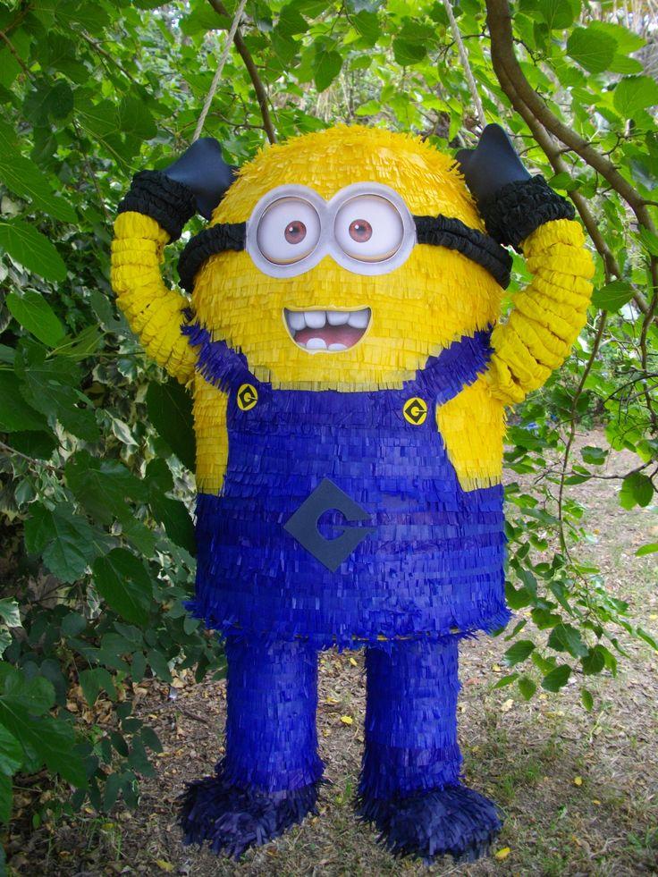 Minion, piñata hand made.