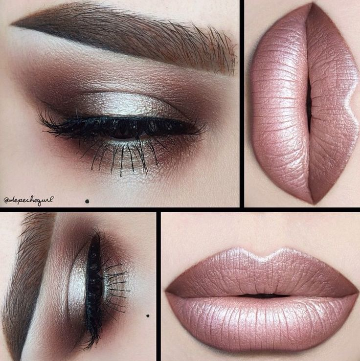 depechegurl iGracias Eyeshadow Palette and Enigma Eyeshadow. Flawless  Collection Brushes used. Lips - Pure Hollywood Liquid Matte, Sand Beige Lip  Liner, ...