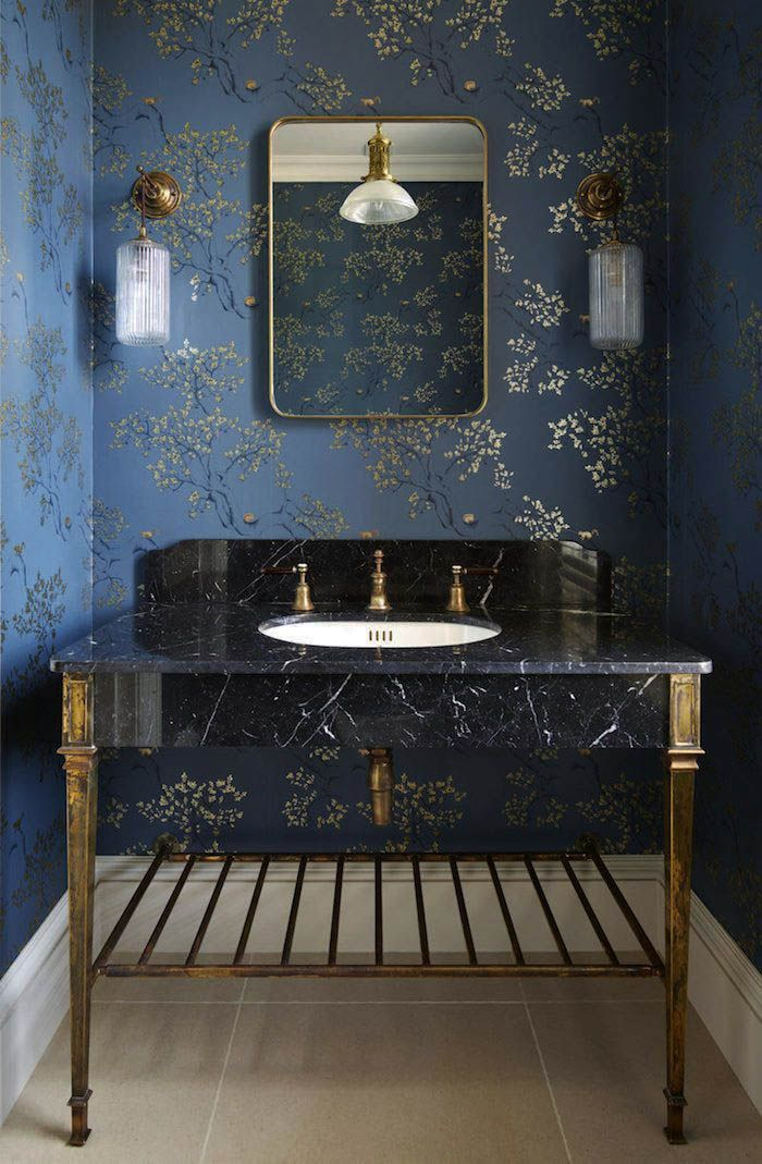 10 Pretty Powder Rooms Elegant Bathroom Bathroom Interior