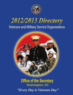 The Veterans Service Organizations Directory 2012-2013