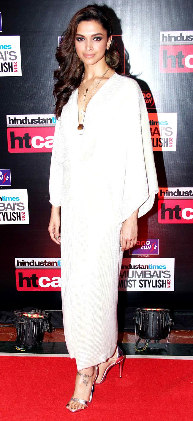 Deepika Padukone at Hindustan Times Mumbai's Most Stylish 2014 Awards.