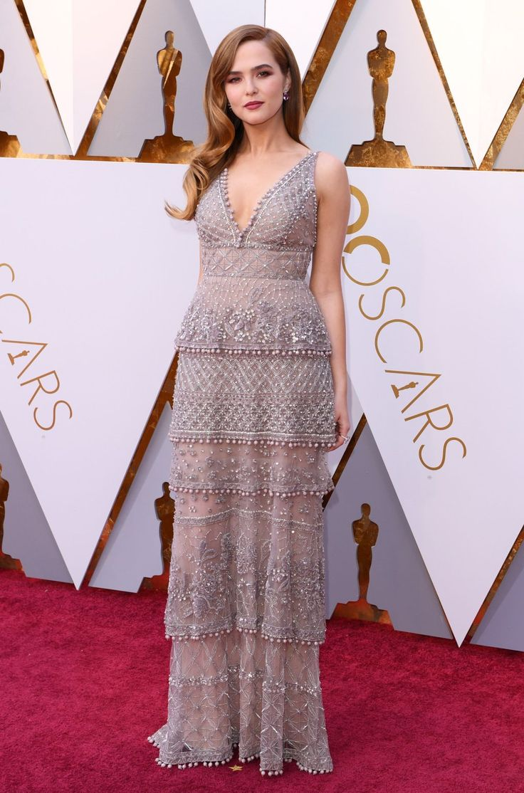 Zoey Deutch In Elie Saab Couture – 2018 Oscars