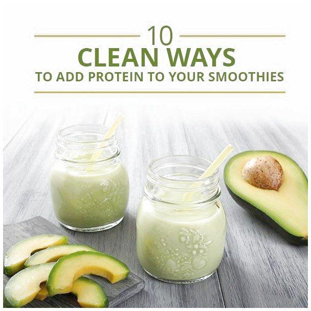 10 saubere Möglichkeiten, Ihren Smoothies Protein hinzuzufügen! #SimpleSmoothieIdeasForKids For …   – Simple Smoothie Ideas for Kids