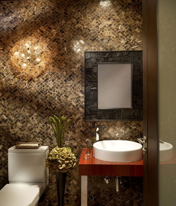 beautiful design idea: Half Bathrooms, Decorating Ideas, Luxurious Bathrooms, Elegant Bathrooms, Hollywood, Hotel Bathrooms, Bathroom Ideas, Beautiful Bathrooms, Powder Rooms