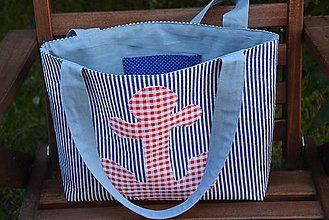 Kabelky - Letná kabelka aj na pláž - 6899394_
